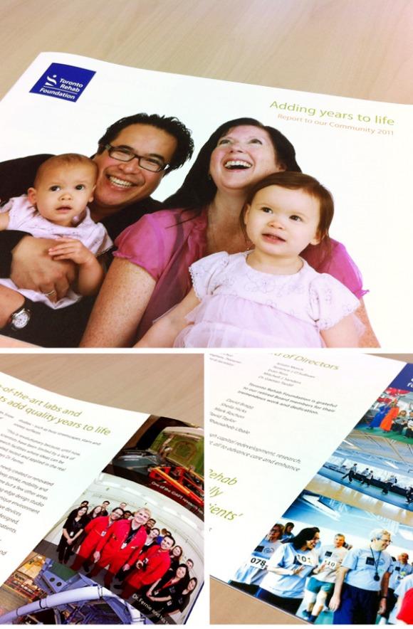 toronto rehab annual report
