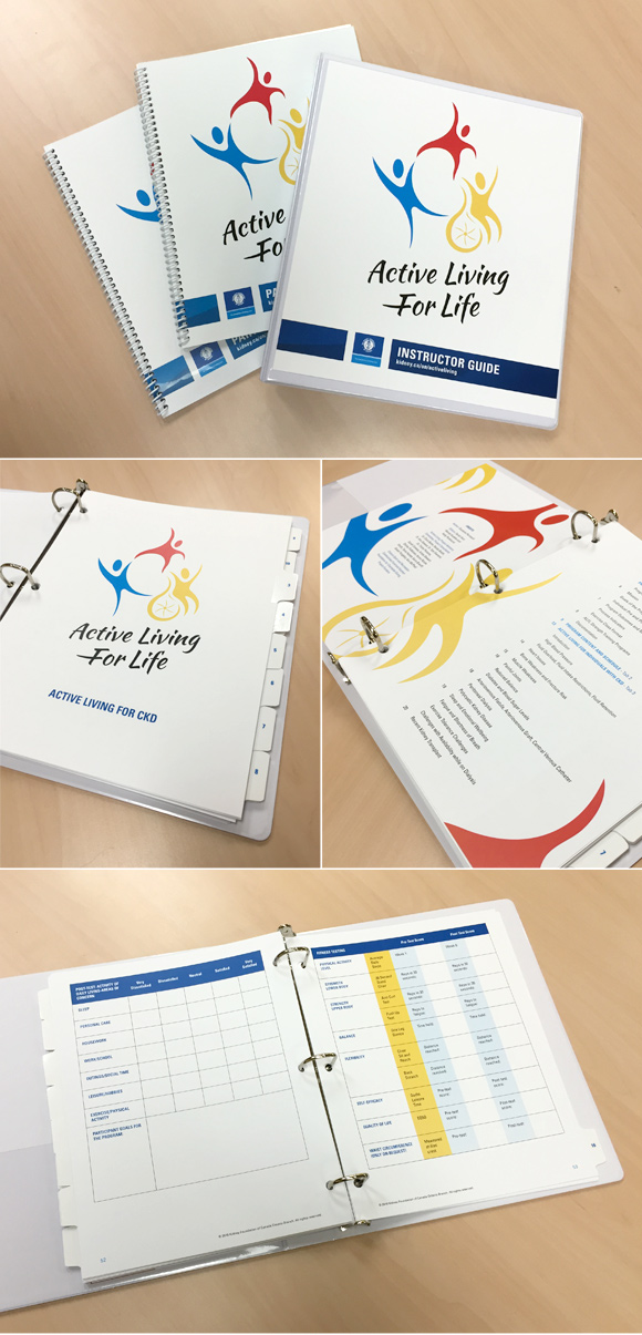 Not-for-profit brand development: Active Living for Life instructor guide