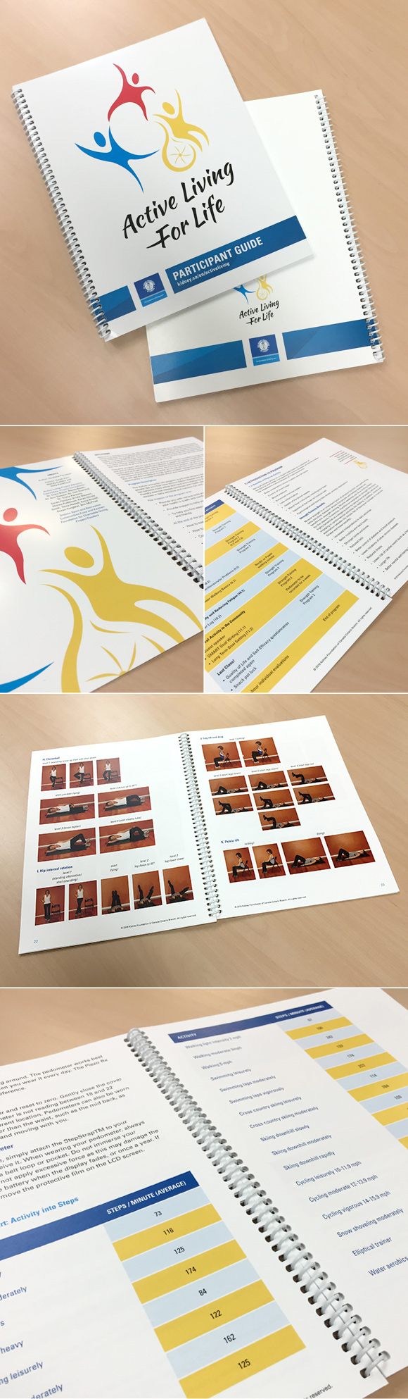 Not-for-profit brand development: Active Living for Life participant guide