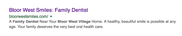 dentist marketing toronto