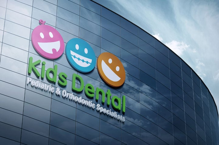kids dental-brand-development-toronto