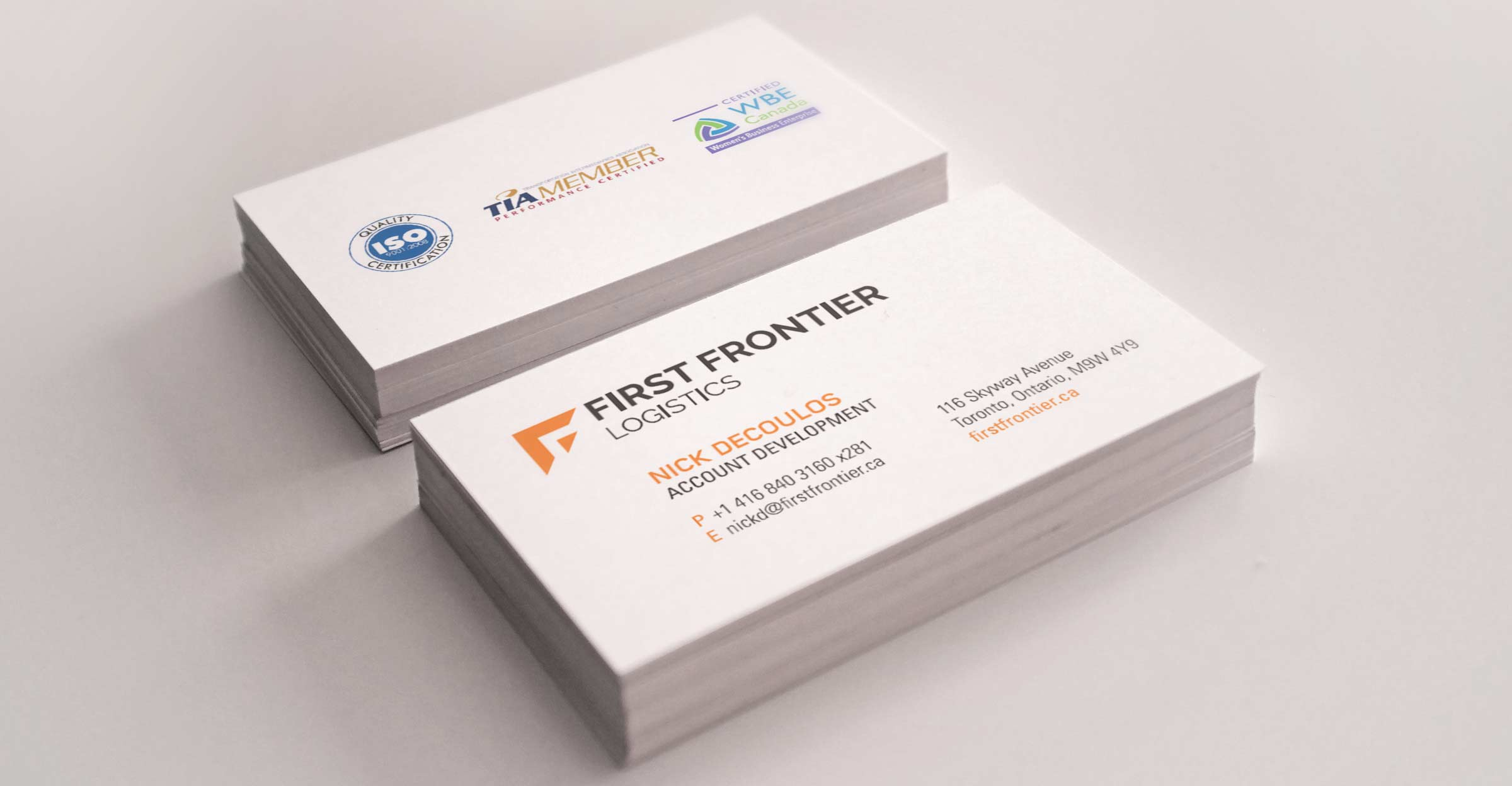 first frontier logistics stationery