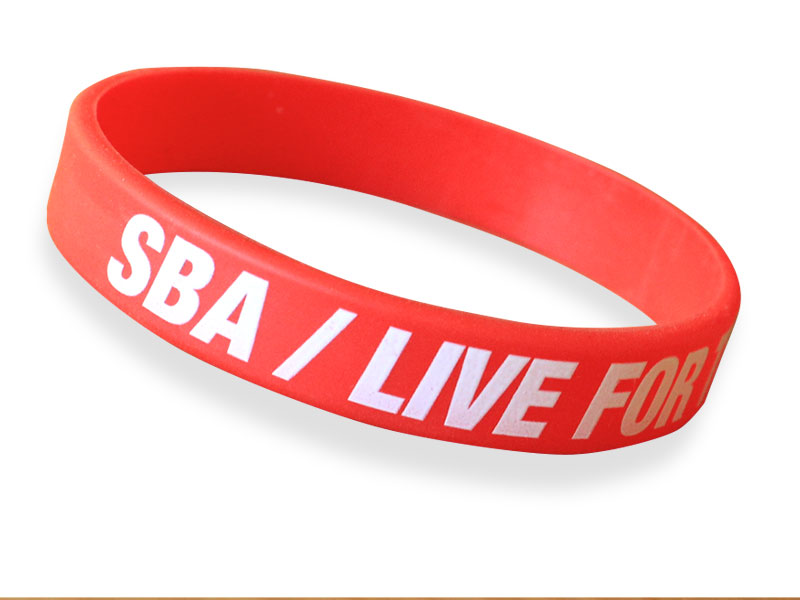 sba silicone bracelet