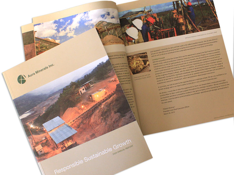 aura minerals annual report