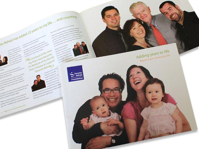 toronto rehab foundation community report