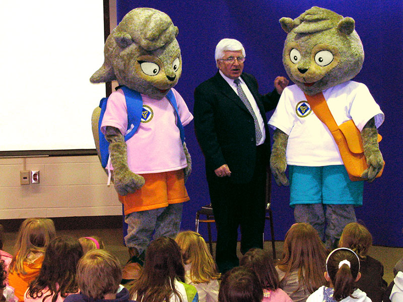 emergency ontario mascots
