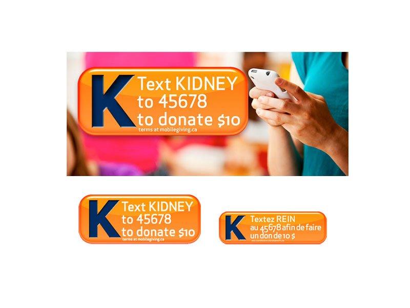 kidney foundation banner ads