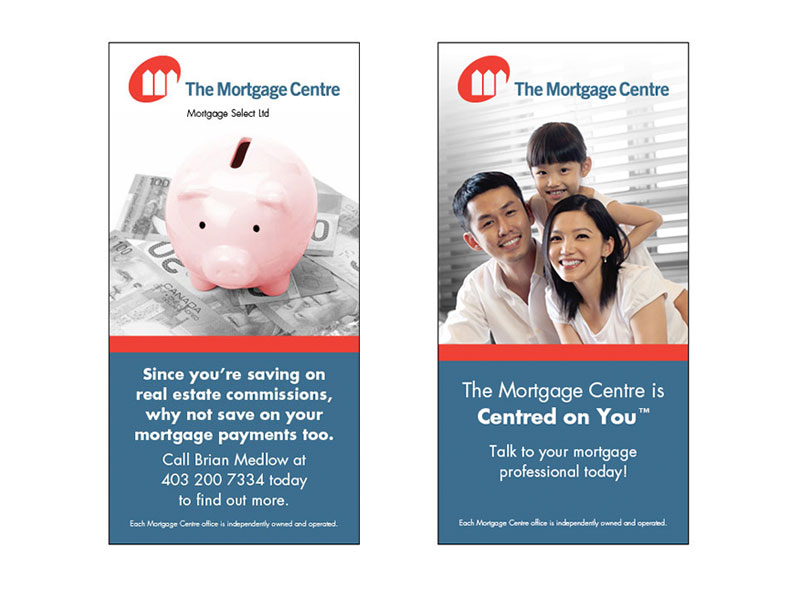 the mortgage centre banner ads