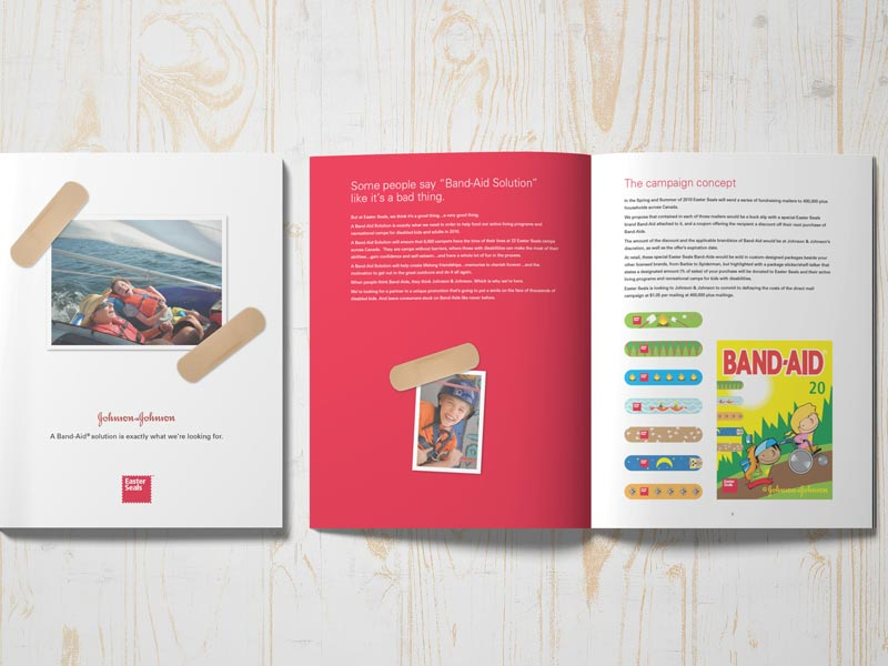 Easter Seals partner branding-brand-development-toronto