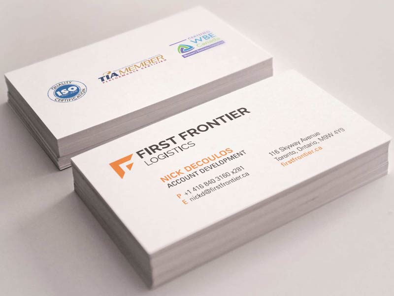 First frontier business cards mystique brand communications first frontier business cards colourmoves