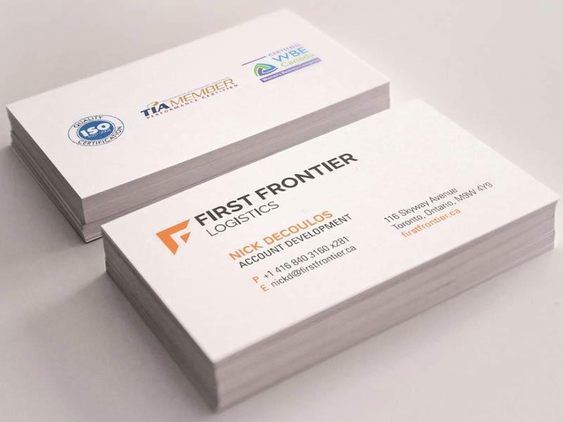 Firstfrontier-BusinessCard-brand-development-toronto image