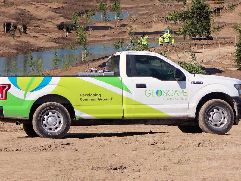 Geoscape-Truck-brand-development-toronto image
