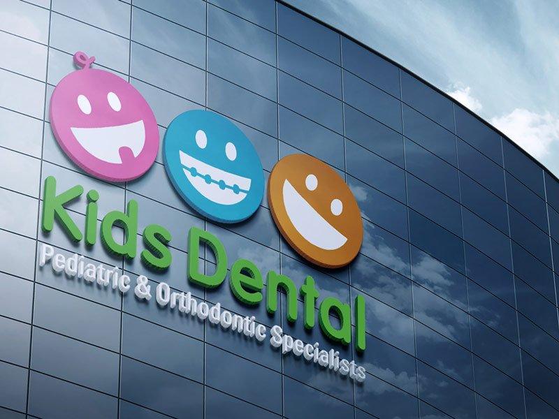 KidsDental_signage brand-development-toronto