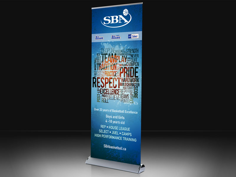 sba pull up banner-brand-development-toronto image
