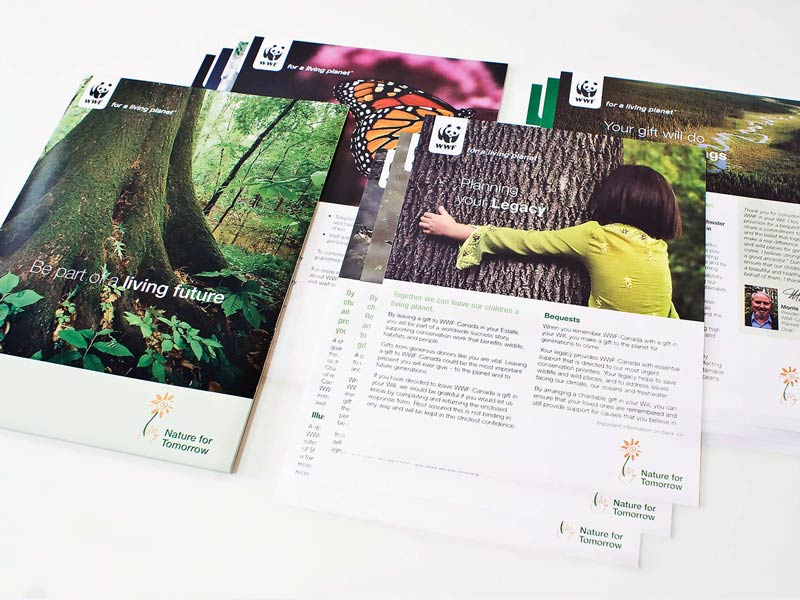 WWF-planned giving-brand-development-toronto image