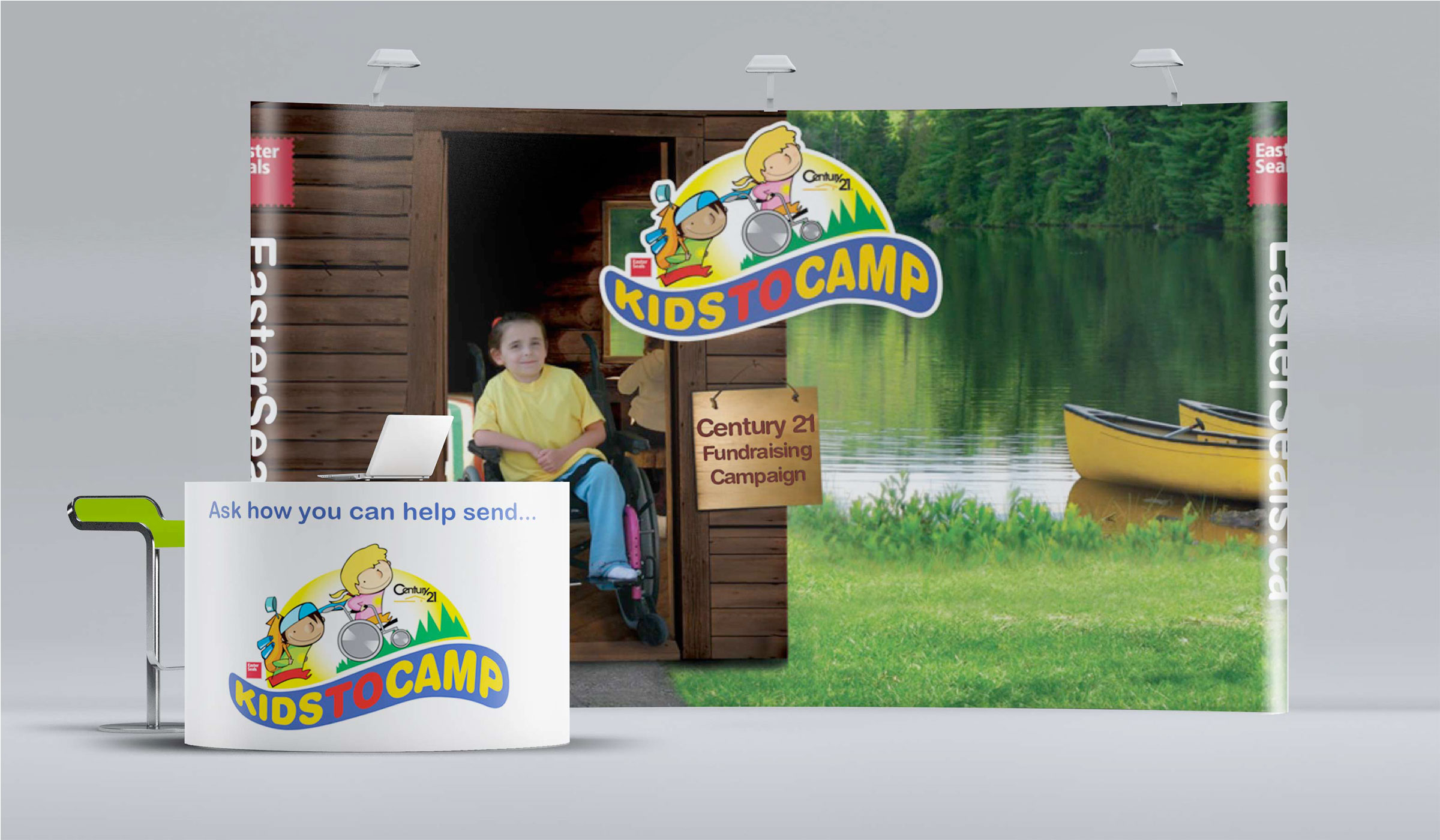 easter seals booth-brand-development-toronto image