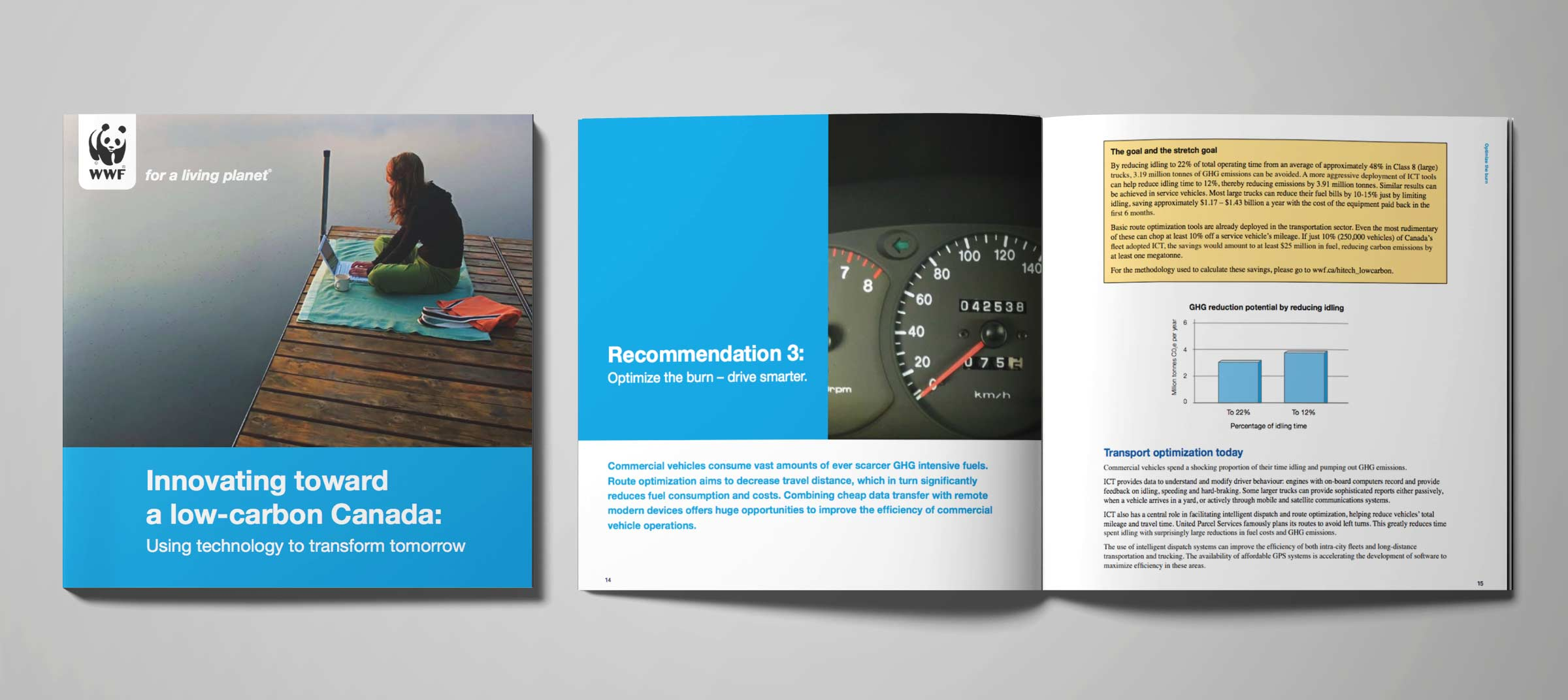 wwf brochure design-brand-development-toronto image