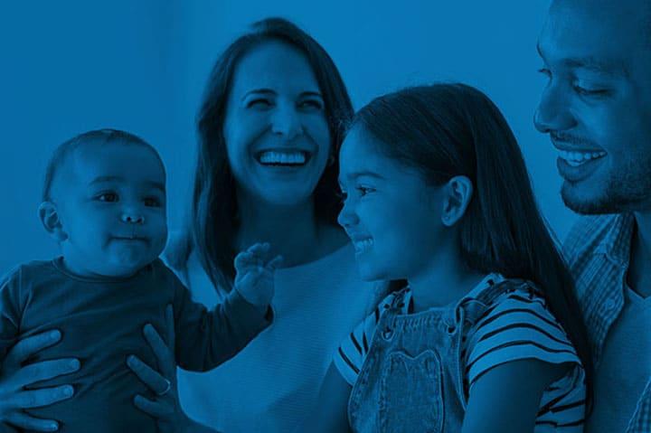 ushine dental family image,small business, branding agency