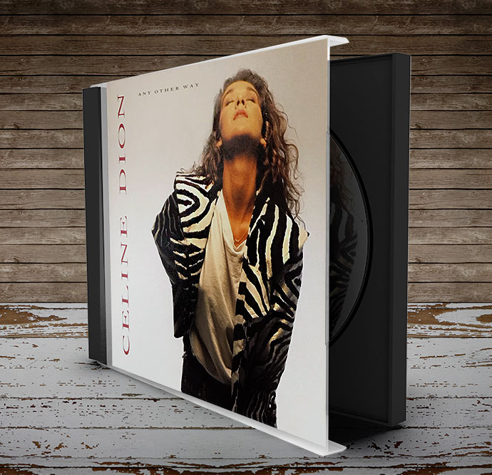 celine dion cd package design