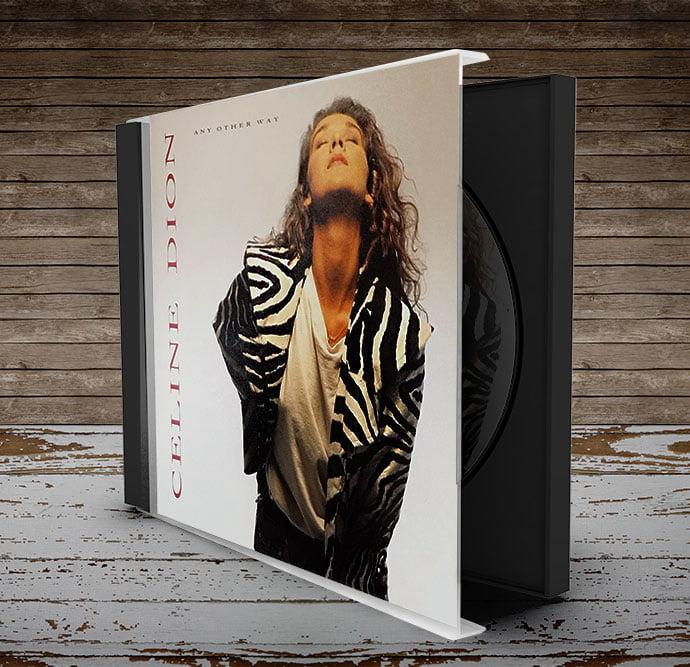 celine dion cd package design