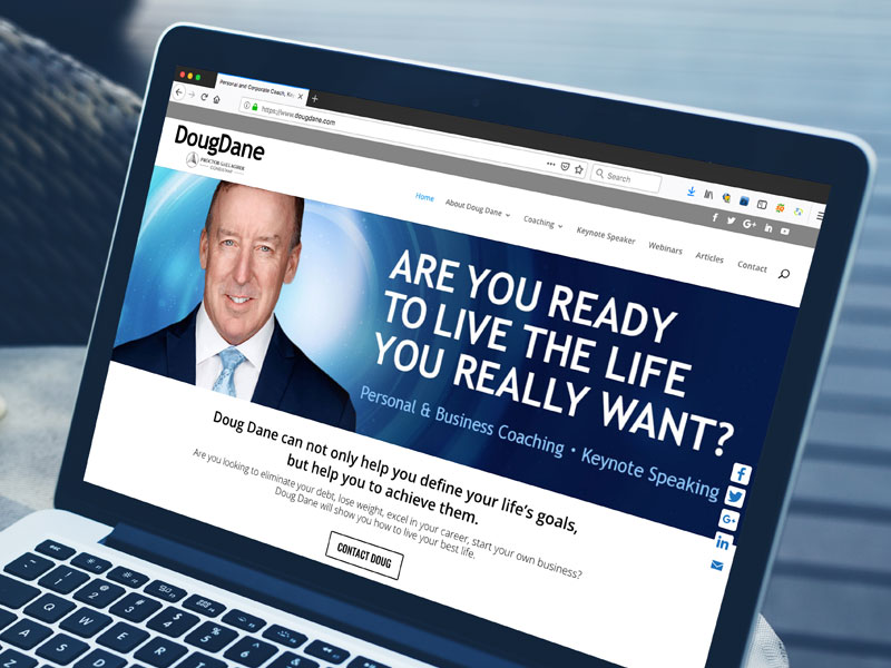 doug dane website design