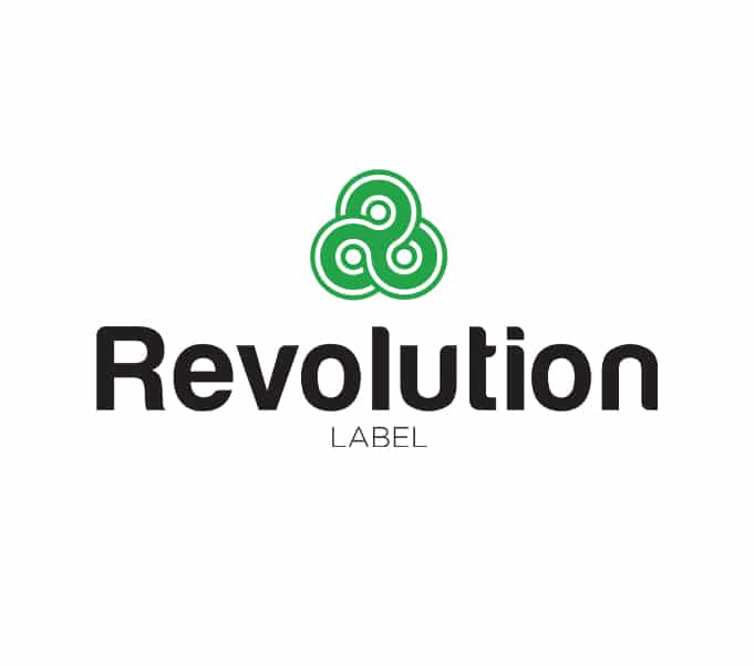 Revolution Label corporate logo design.jpg