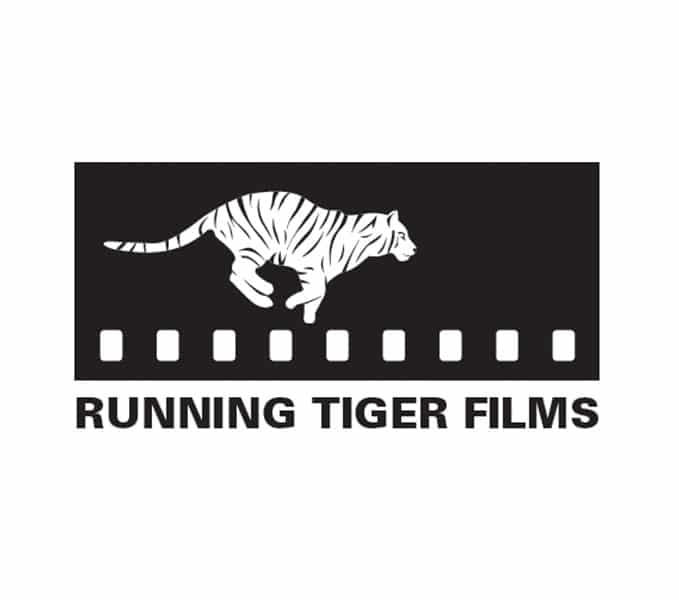 running-tiger-films-logo-on-a-white-backgroun