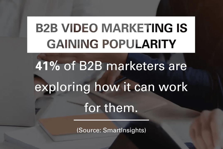b2b video